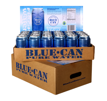 Blue Can Water Case
